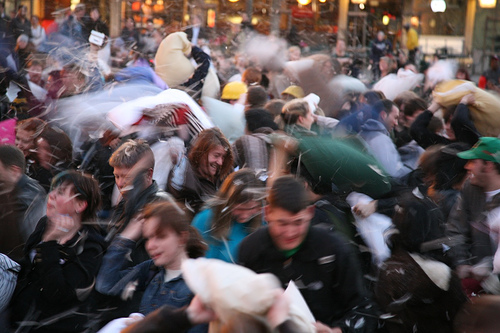 Pillow Fight Returns to San Francisco