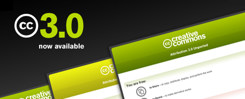 Creative Commons Version 3.0