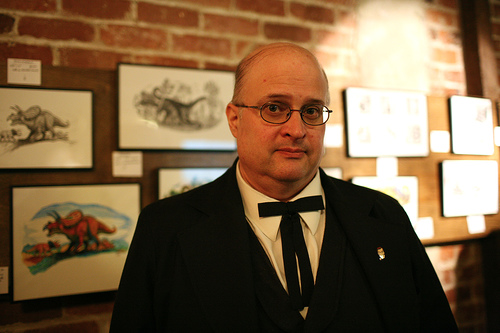 "Photos of Hal Robins ""Dragonolatry"" Art Show Opening"