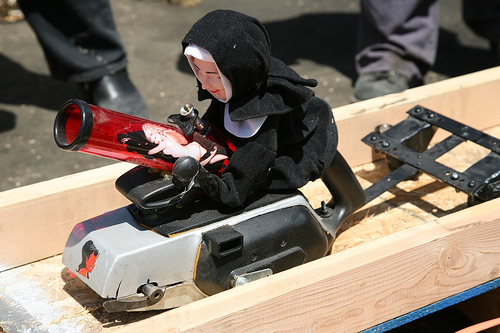 Power Tool Drag Races at Maker Faire 2007