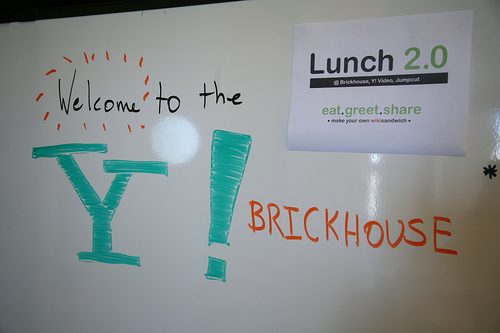 Lunch 2.0 Hosted by Jumpcut at Yahoo! Brickhouse