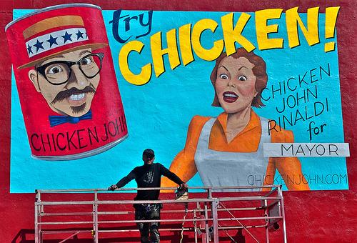 Chicken John Mural & Call For Art by San Francisco Artists