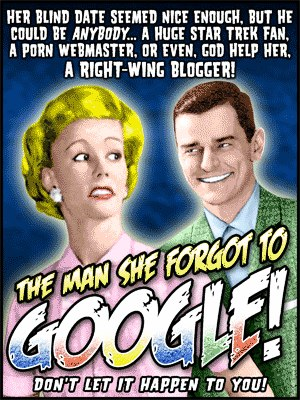 The Man She Forgot to Google by T-Shirt Humor