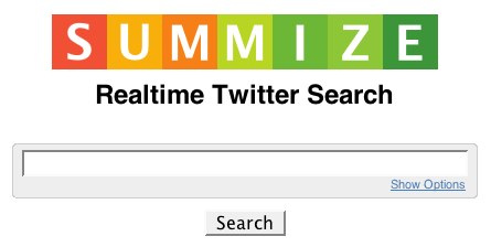 Summize, A Realtime Twitter Search