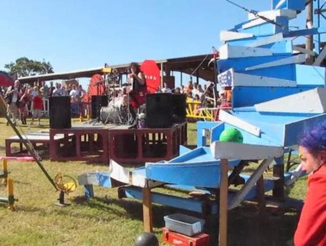 The Life Size Mousetrap Returns To The Haunted Barn