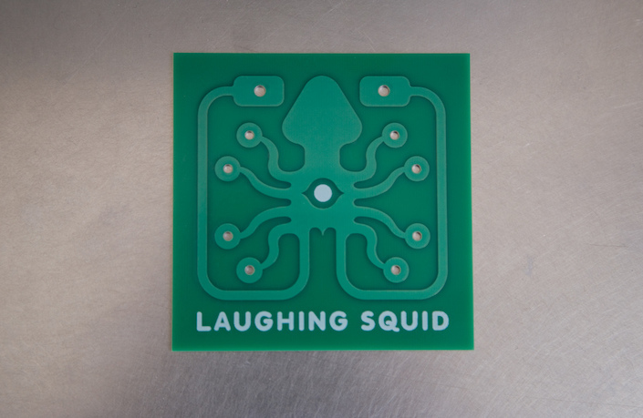 Laughing Squid Printed Circuit Board