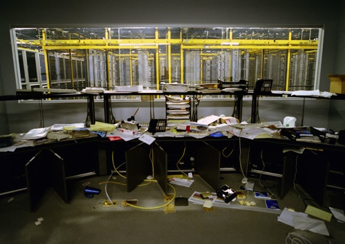 Photos of Bankrupt Offices, The Archeology of Life Interrupted