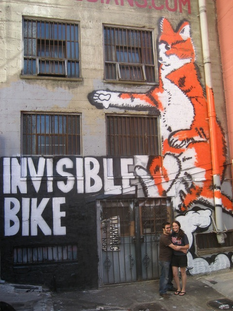 The World's Largest Lolcat, An Invisible Bike Mural