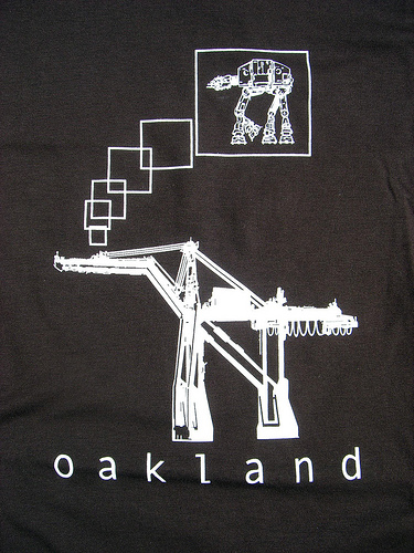Oakland's Container Cranes Dream of Star Wars Glory