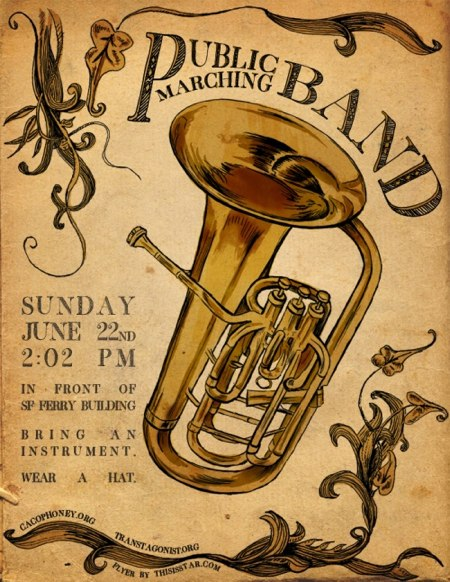 Public Marching Band in San Francisco This Sunday