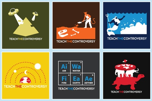 Teach The Controversy T-Shirts by Amorphia Apparel