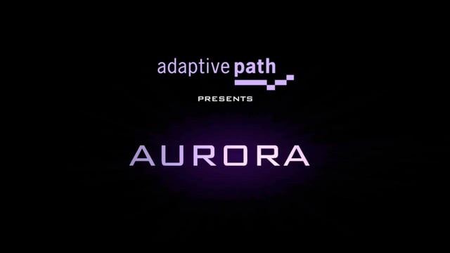 Aurora, A Vision of Future User Experience on the Web