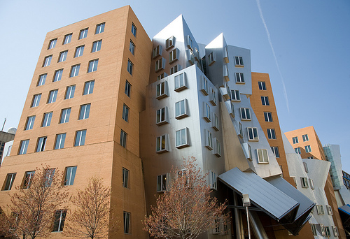 Ray and Maria Stata Center at MIT by Frank Gehry