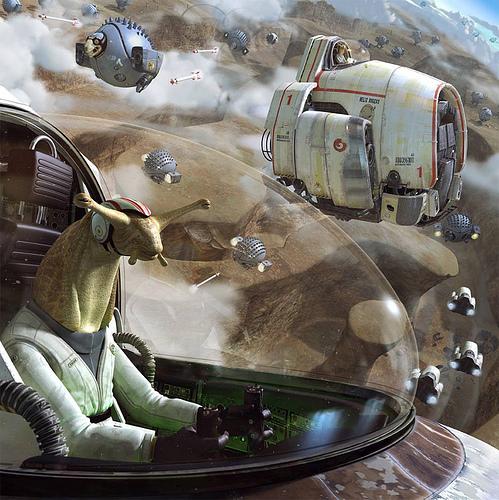 Sci-Fi Concept Spaceship & Experimental Aircraft Art Blog