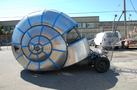 The Golden Mean: A Hot Rod Racing Snail