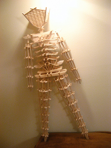 Balsa Man, A Diminute Effigy For A Reduced Community