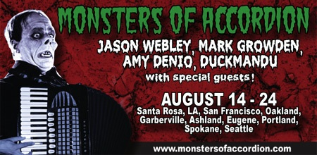 Monsters of Accordion 2008 West Coast Tour