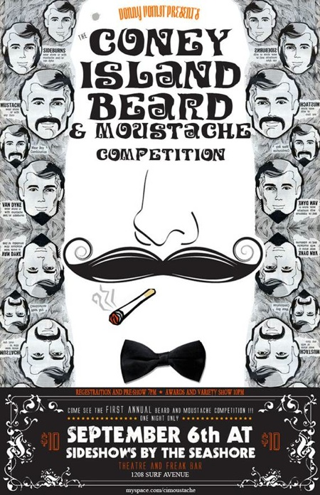 Coney Island Beard & Moustache Competition