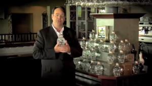Dan Aykroyd Crystal Head Vodka