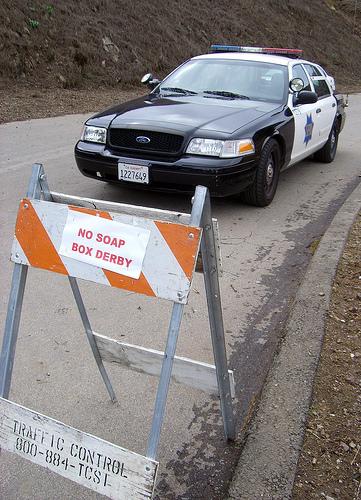 Bernal Heights Hill Soapbox Derby Shut Down By Police