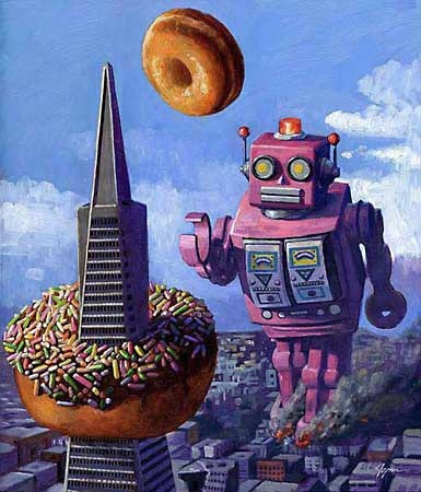 Eric Joyner Explores The World of Robots & Donuts