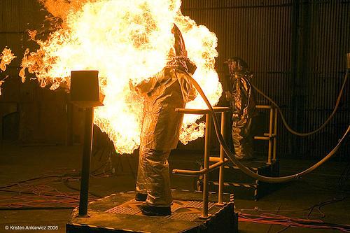 Dance Dance Immolation at NIMBY - photo by Kristen Ankiewicz