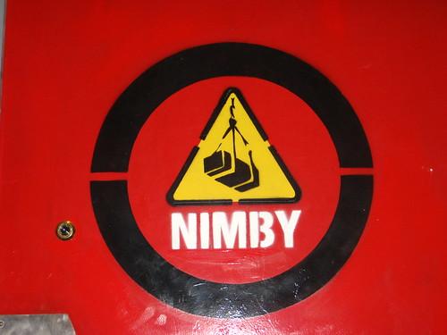NIMBY door - Photo by Eddie Codel