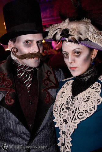 A Gorey Couple - Photo by The Blight