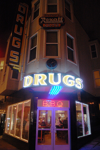 Drugs + BBQ = Sign of the Times