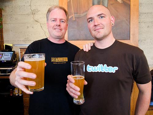 Spring Tweet, A Twitter Beer Brewed by 21st Amendment