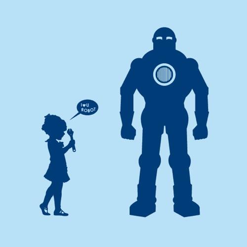 I Love You Robot T-Shirt