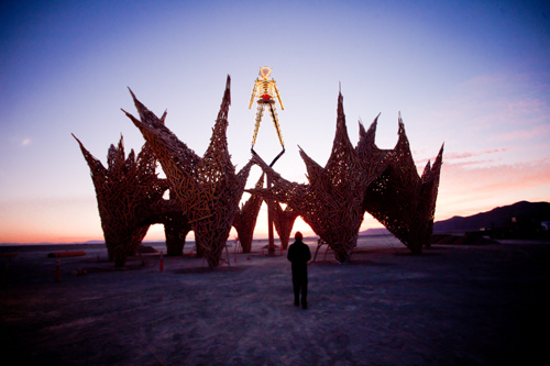 How To Experience Burning Man 2009 Remotely