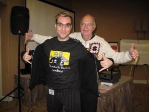 Jacob Appelbaum and Donald Knuth