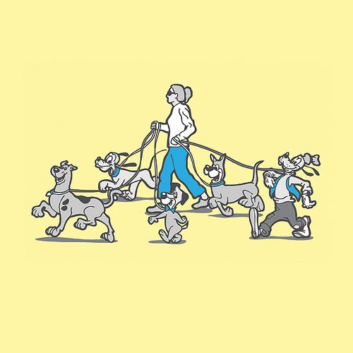 Famous Dog Walker