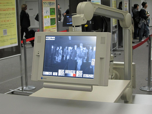 Infrared Cameras at Tokyo's Narita Airport Are Designed to Spot People With Fevers