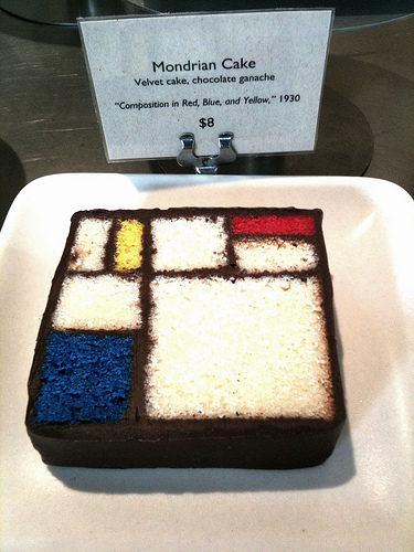Artist-Themed Desserts at the SFMOMA