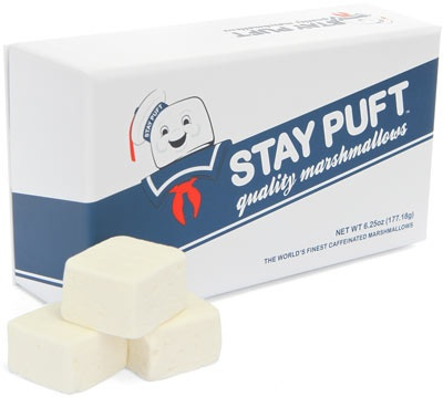 Stay Puft Caffeinated Gourmet Marshmallows