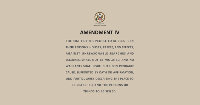 Amendment IV