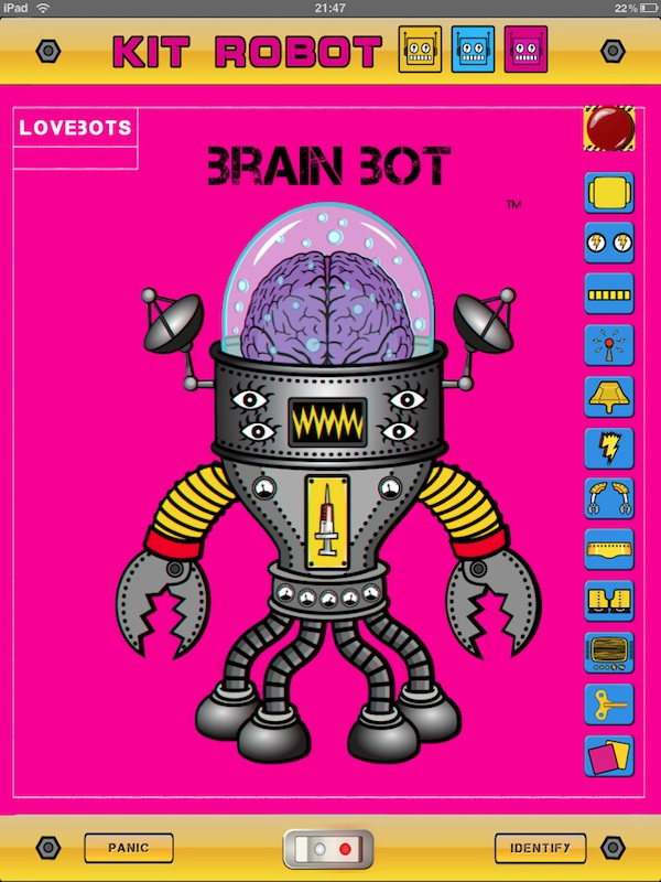 LoveBots by Kit Robot, A Robot Avatar Assembly App