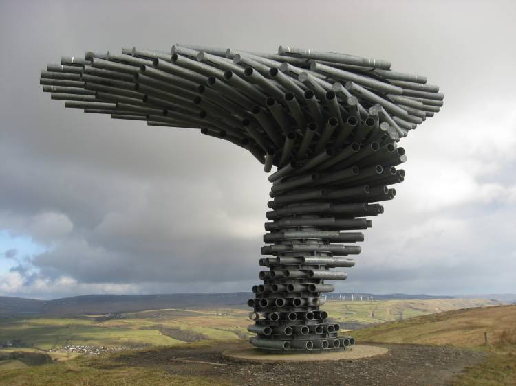 The Singing Ringing Tree, A Landmark Musical Sculpture in England