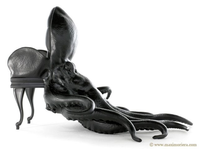 The Octopus Chair by Maximo Riera