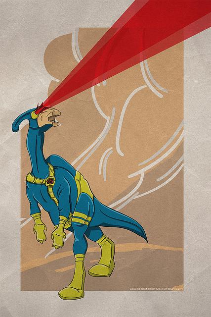 Superhero Dinosaurs by David Resto