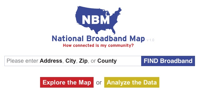 National Broadband Map Shows The Fastest Connection In Your Area