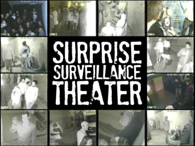 Surprise Surveillance Theater at The Lost Horizon Night Market