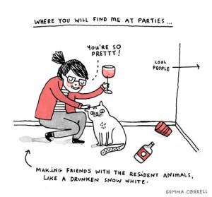 Me at Parties