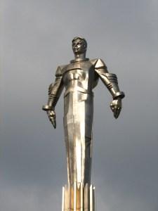 Yuri Gagarin Statue