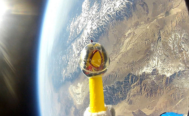 High School Students Send Rubber Chicken to Edge of Space