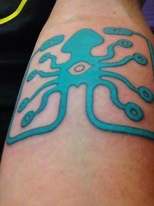 Laughing Squid Tattoo