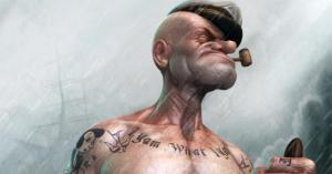Realistic Popeye
