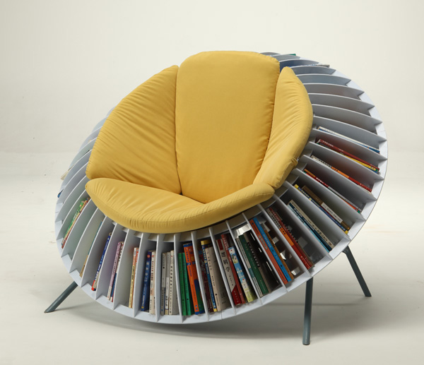 Sunflower Chair by He Mu and Zhang Qian
